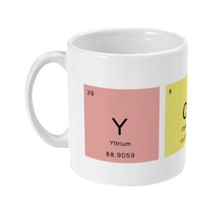 Periodic Table Yoga Mug | Yogi Gift