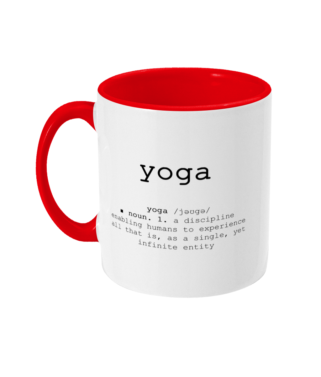 Yoga Definition Mug | Yoga Mug | Yoga Quote | Coffee Mug | |