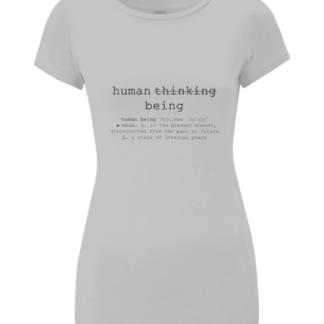 Organic Cotton Short Sleeved T Shirt Tee Tshirt Womens Yoga Wear Festival Wear