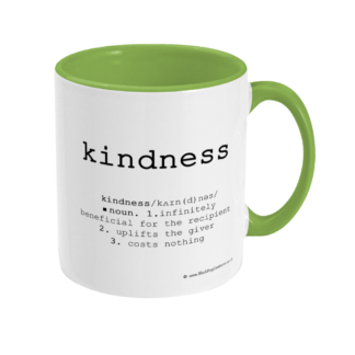 Kindness Definition Mug Mindfulness Gift Kindness Quote