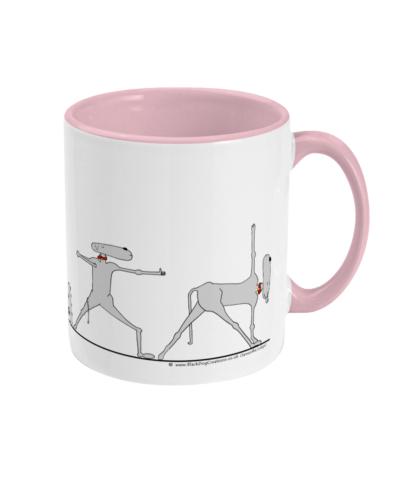 Whippet Yoga Mug, Whippet Mug, Whippet Gifts and Yoga Gifts For Yoga or Dog Lover, Teacher, Yogis, Men, Her, Mum, Dad, Boyfriend, Girlfriend